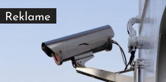 Overvågningskamera.
